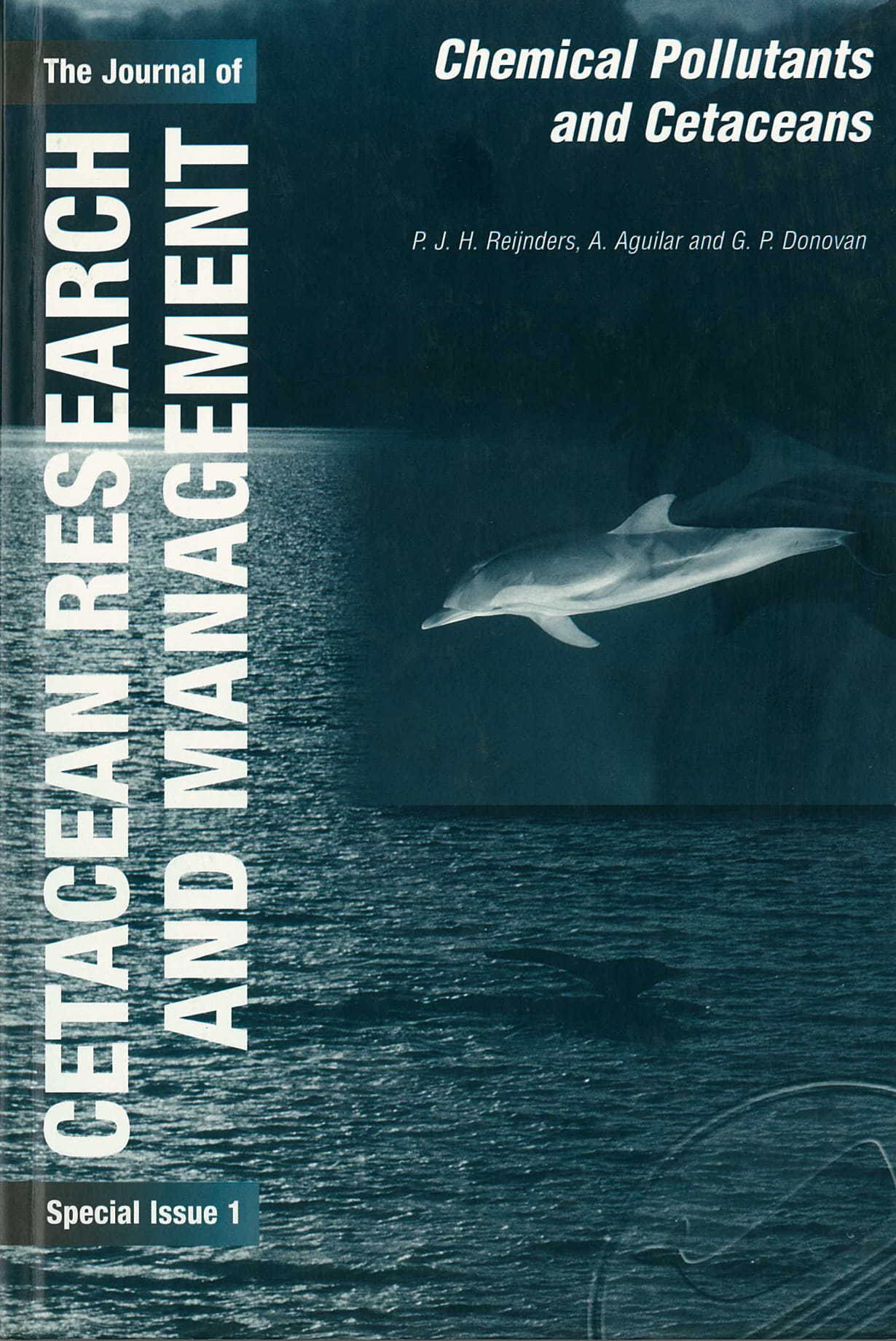 Journal of Cetacean Research and Management (Special Issue 1)